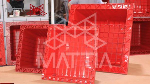 تولید و فروش انواع قالب های سقف وافل سقف وافل چیست؟ مزایای استفاده از سقف وافل