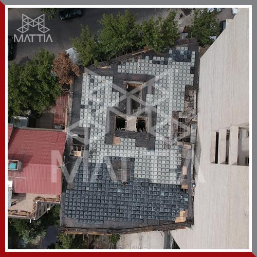 پروژه نیاوران تامین قالب سقف وافل ماتیا