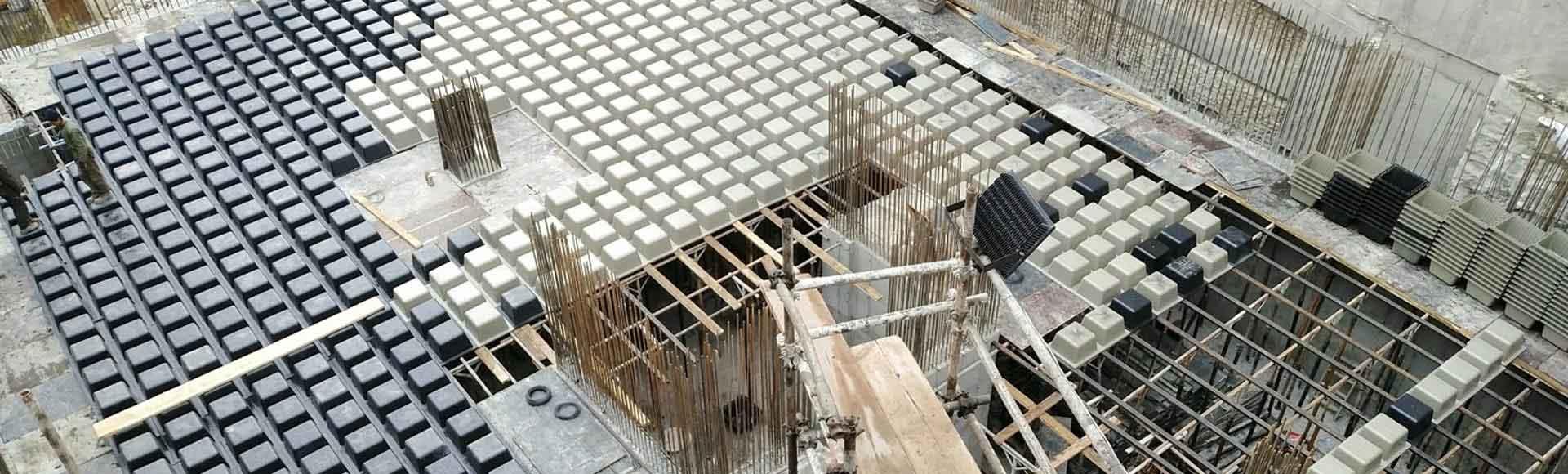 قالب سقف وافل و لوازم و تجهیزات