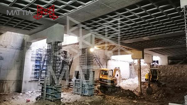 طراحی و اجرای سازه با روش بالا به پایین | Top-Down construction فرق بین روش اجرای ساختمان از پایین به بالا با بالا به پایین مهمترین مزایای این روش Top-Down construction  نحوه اجرا اجرای سازه با روش بالا به پایین | Top-Down construction