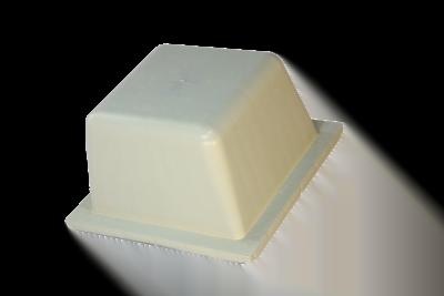 قالب سقف وافل دوطرفه ماتیا سفید
