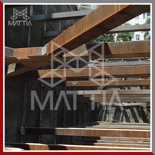 پروژه پایدارسازی گود مجتمع تجاری - اداری دولت، پوریا شرکت ماتیا ساخت