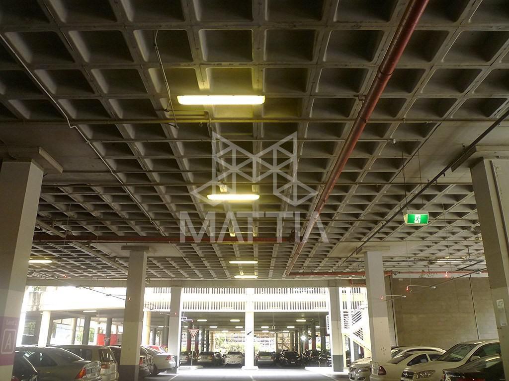 کاهش هزینهی اجرای تأسیسات با توجه به حذف تیرهای میانی نمونهای از اجرای تأسیسات زیر سقف وافل