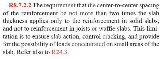 سقف وافل در مقررات ملی ساختمان و آیین نامه بتن آمریکا ACI 318-14