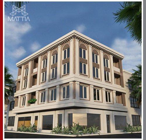 پروژه اجرای سازه ساختمان خارک