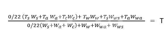 فرمول محاسبه دمای نهایی مخلوط بتن (تخمین دمای بتن) برای بتن ریزی در هوای سرد و گرم