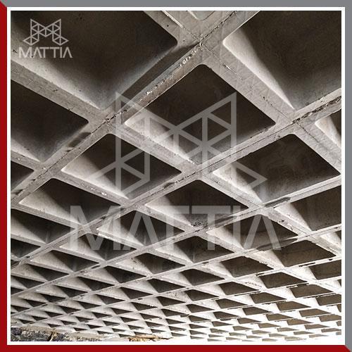 پروژه مسکونی شهید عراقی تهران طراحی و اجرای سقف وافل و تامین قالب وافل سقف