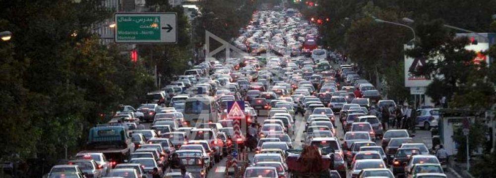 ترافیک تهران - تامین پارکینگ بیشتر در شهر ها برای پروژه های مسکونی و تجاری