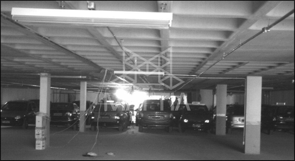 - تأمین دهانهی بلند در پارکینگ با استفاده از سقف وافل