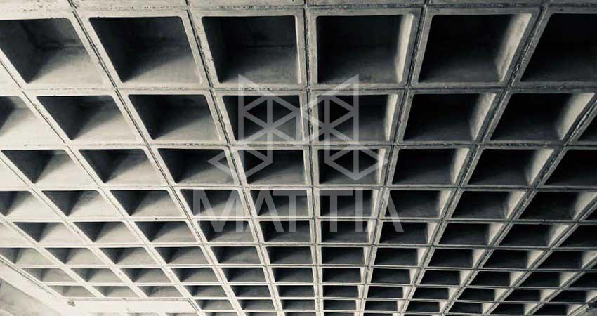 اثرات معماری در سقف مجوف