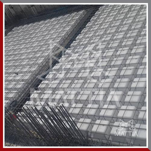 پروژه تامین قالب وافل ماتیا برای 12 طبقه سقف در شهر قم