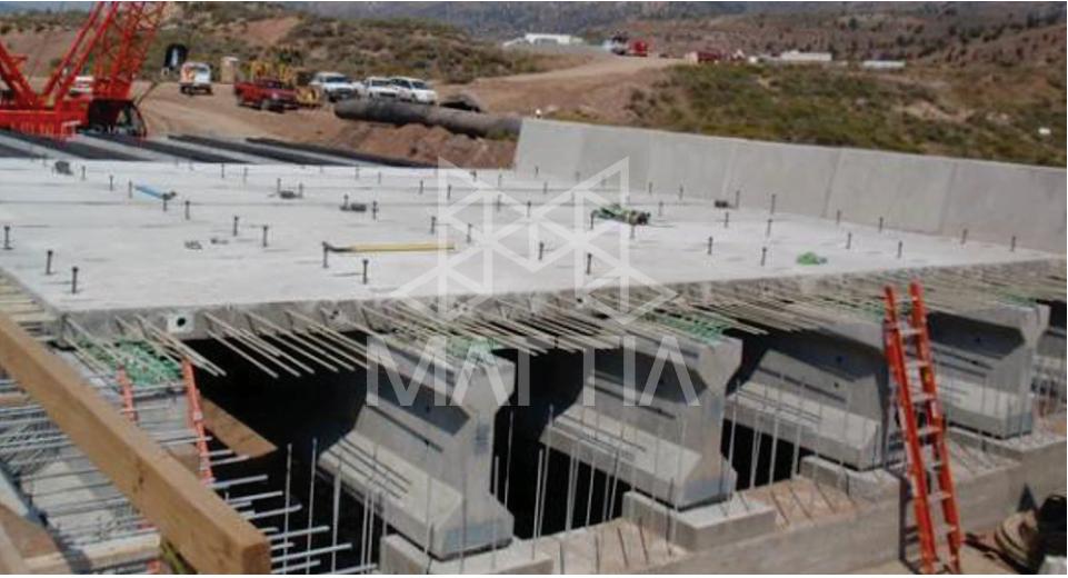 شکل 2: کاربردهای FRP را در ساخت عرشه پل ها در ایالات متحده نشان می دهد. - آشنایی با کاربردهای بتن مسلح به آرماتور FRP و دلایل استفاده آن کاربردهای استفاده از بتن مسلح به آرماتور FRP در اروپا و آسیا