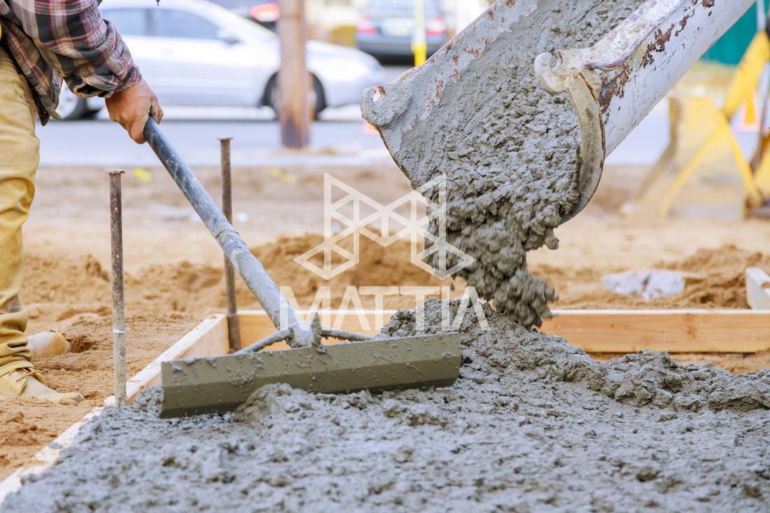 بتن چیست؟ Concrete Bitume  Béton