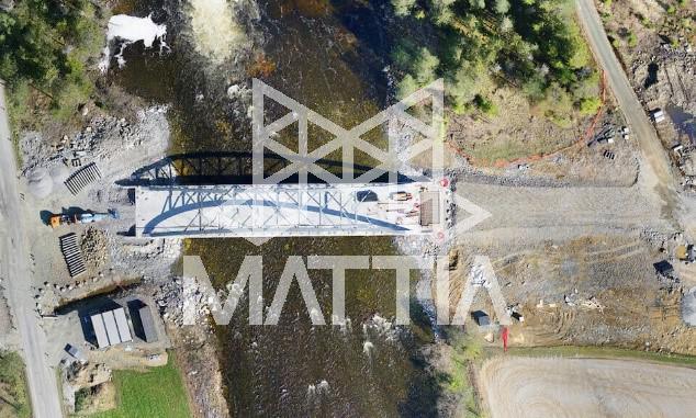 پایش یک پروژهی احداث پل، قبل و بعد از بهرهبرداری با پهپاد